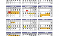 Shel County High School Calendar