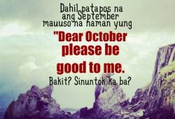 September Quotes Tagalog