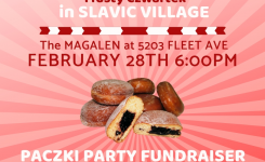 Slavic Village Fleet Fat Thursday Tusty Czwartek