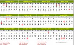 Slovenia Calendar 2018 4 Newspicturesxyz
