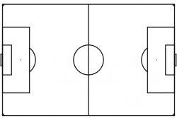 Soccer Half Field Template Word