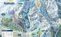 Solitude Mountain Resort Trail Map Liftopia