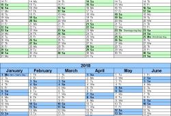 Asp Calendar Sept Through Years