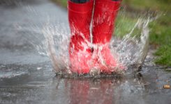 Step In A Puddle And Splash Your Friends Day Days Of The Year
