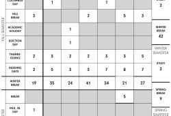 Princeton Academic Calendar