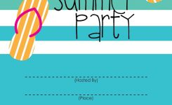 Summer Party Invitation Free Printable End Of Year Party Ideas