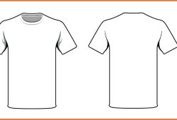 T Shirt Template Ai