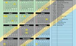 Tanzania 2018 2019 Holiday Calendar