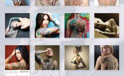 Tattoo Art Calendar 2018 Calendar Club Uk