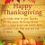 Happy Thanksgiving Greetings