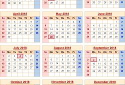 Us Government Calendar