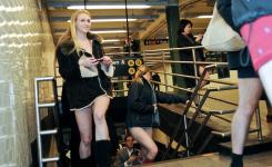 The No Pants Subway Ride Improv Everywhere