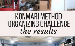 The Results Of A 30 Day Organizing Challenge Following The Konmari