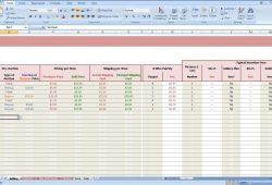 Tithe Tracking Spreadsheet