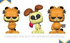 Toy Fair Funko Reveals Garfield Pops