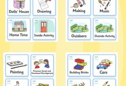 Classroom Visual Timetable Template