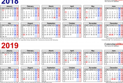 April 2019 Calendar Week Numbers Pdf Image