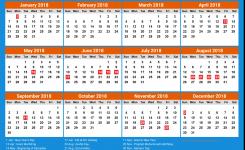 United Arab Emirates Calendar 2018 5 Newspicturesxyz
