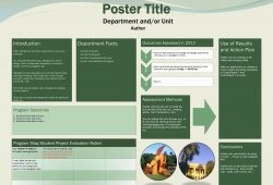 E Poster Template Download