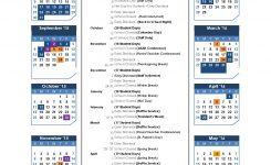 Updated School Calendar Collier Middle School