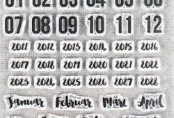 Monat Januar Bis Juni 2021