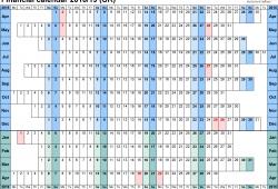 Us Results Calendar