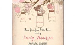 Vintage Bridal Shower Invitation Templates Free Projects To Try