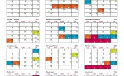 Wake County School Calendar 2018 15 Calendar Template Blank