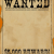 Western Wanted Sign Template
