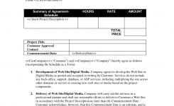Web Development Short Form Contract Canada Web Development