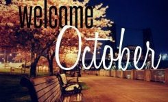 Welcome October Park Month October Hello October October Quotes