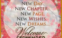 Welcome September Fall September Quotes Welcome September