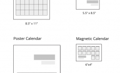 What Are The Different Calendar Sizes Uprinting