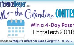 Win A Rootstech 2018 4 Day Pass From Conferencekeeper