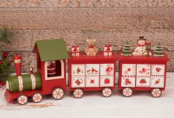 Wooden Train Advent Calendar Uk
