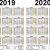 Monat November Dezember 2019 Januar Bis April 2020