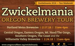 Zwickelmania At Various Locations In Portland Or On Sat Feb 17 11