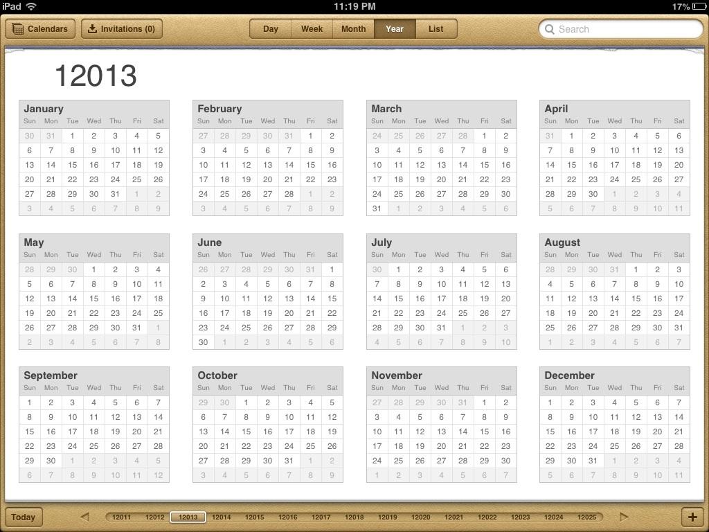 10000 Year Calendar