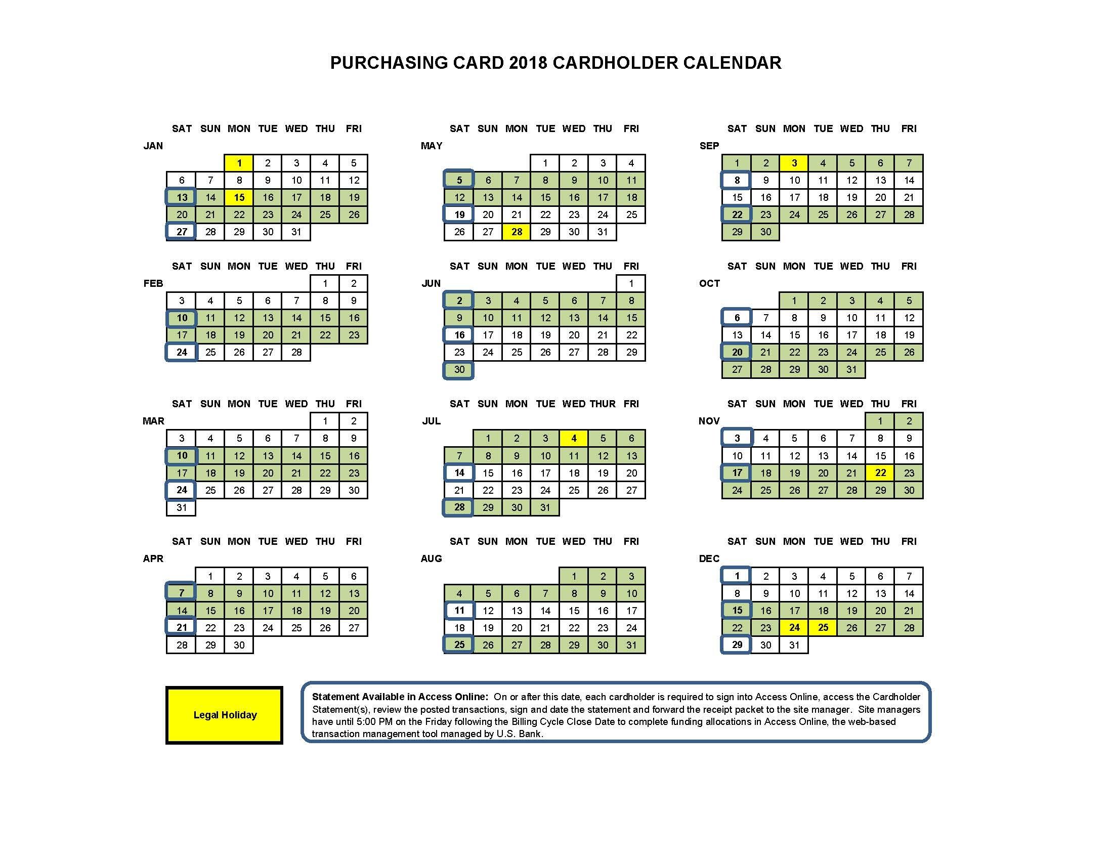 Uw Academic Calendar 2019