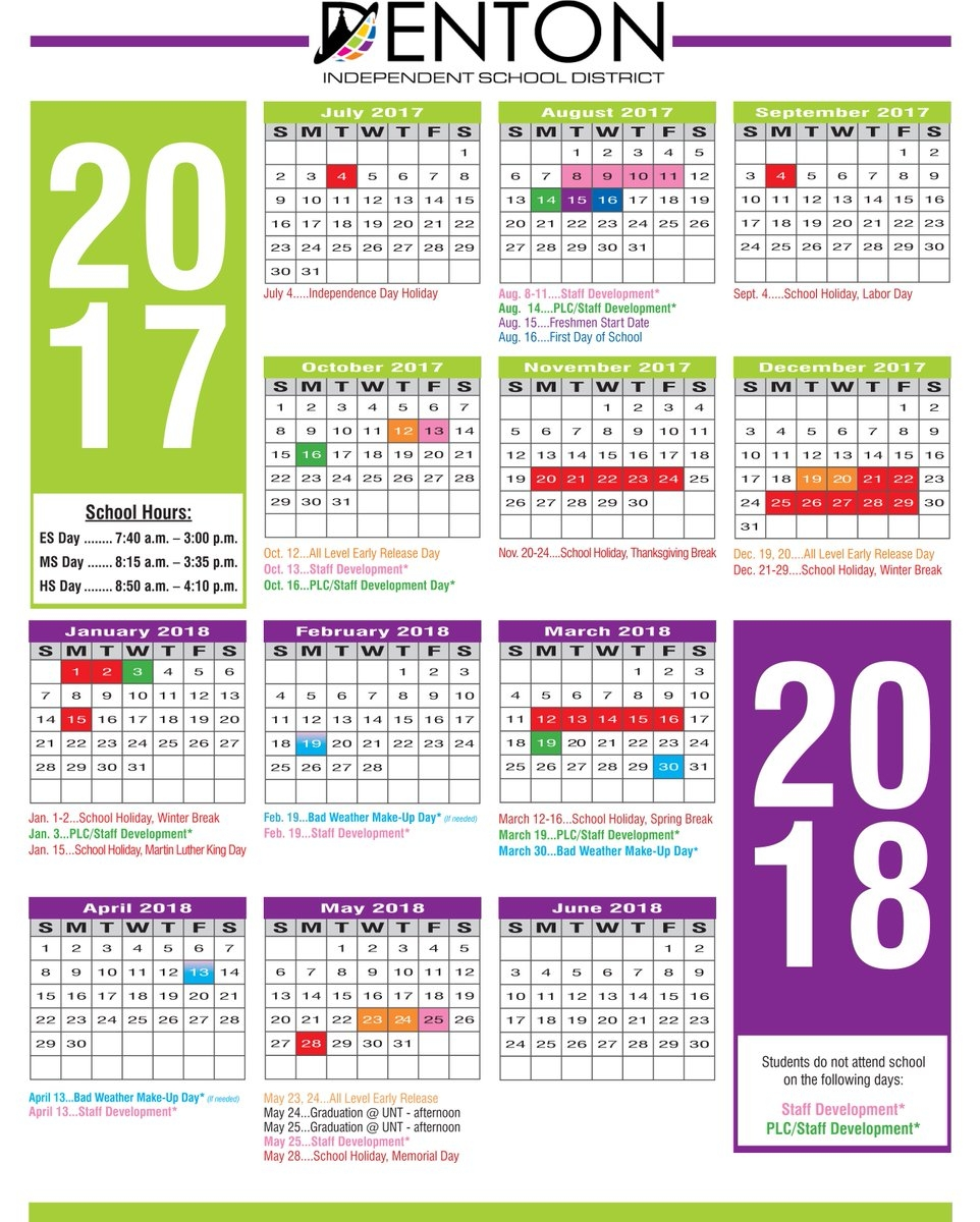 Denton Isd Calendar 2022.D E N T O N I S D C A L E N D A R Zonealarm Results