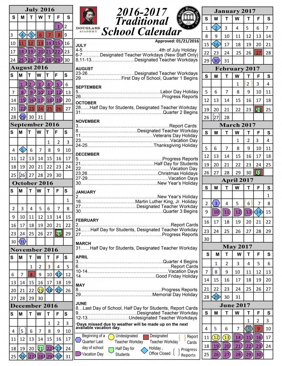 New Hanover County Schools Calendar