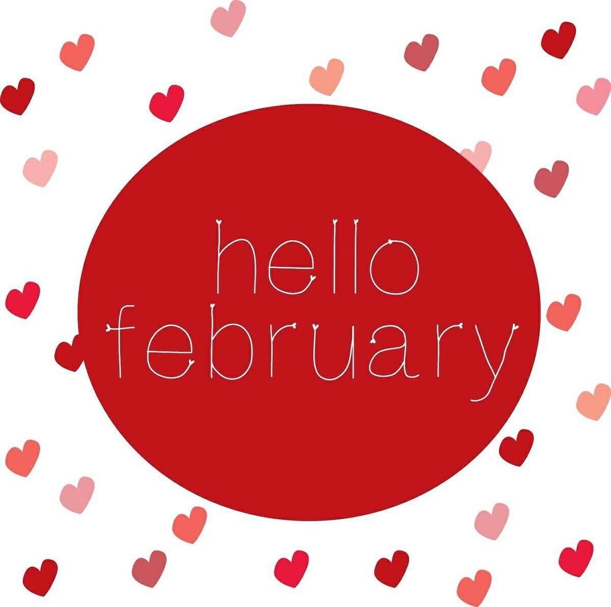 Hello February Hearts