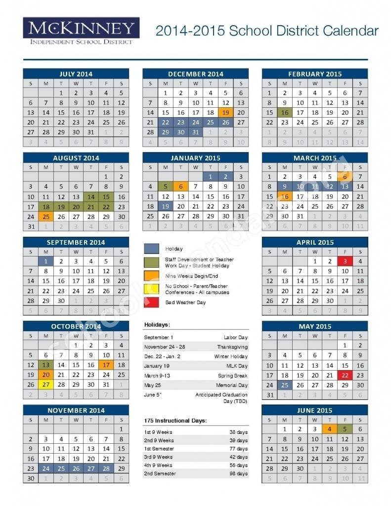Mckinney Isd Calendar