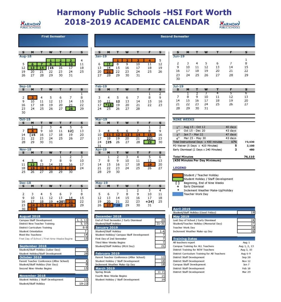 Shsu Academic Calendar