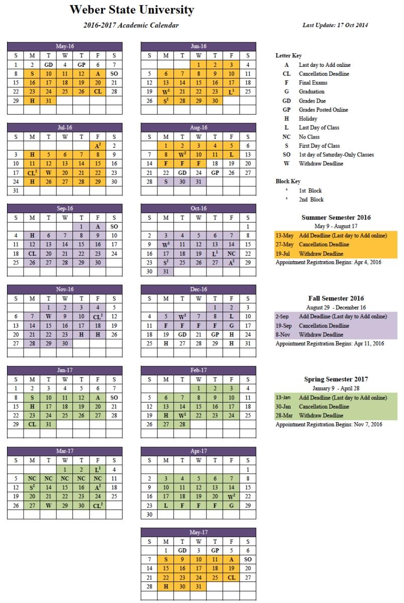 Syracuse University Calendar