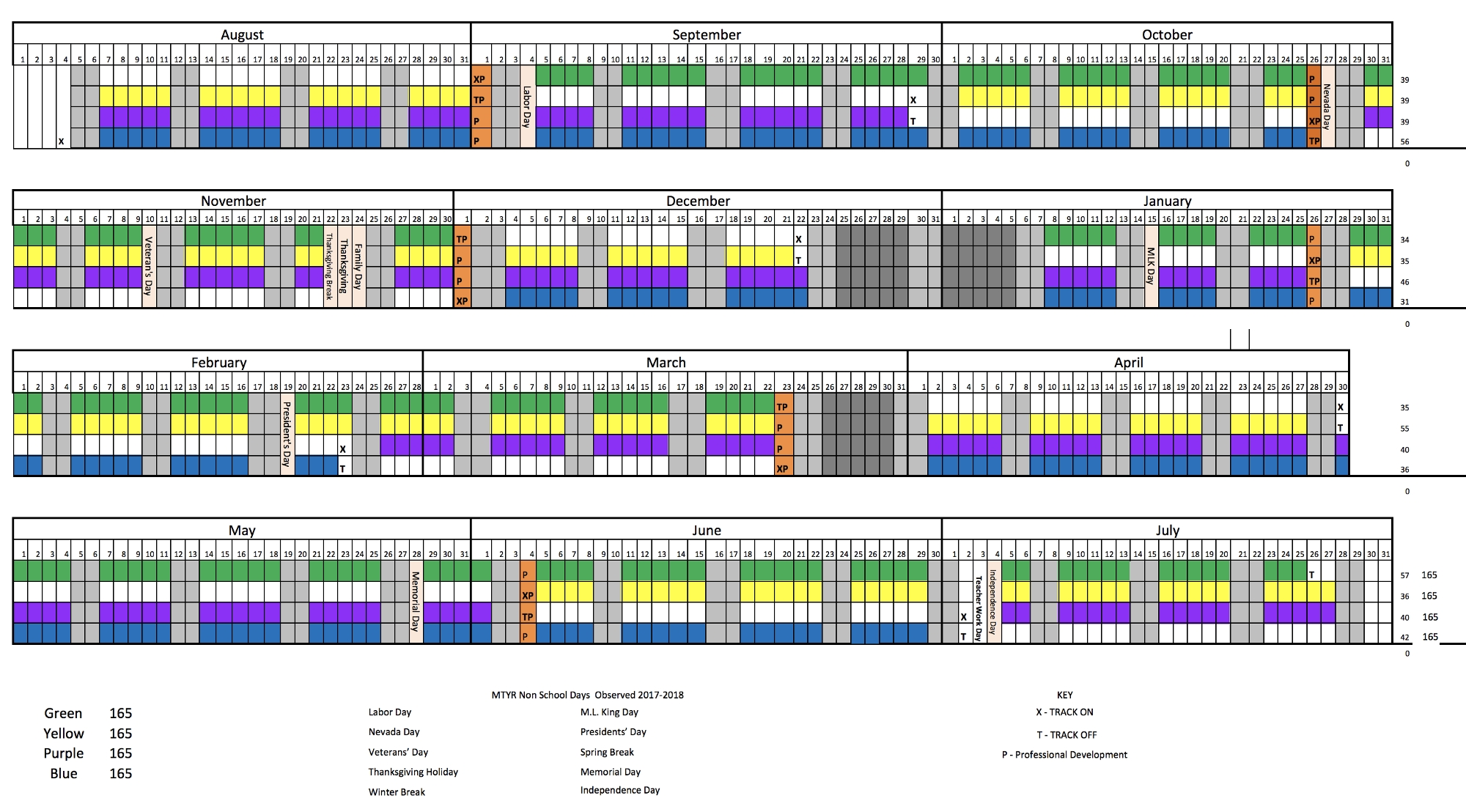 Task Force Explores Multi Track Year Round School Calendar
