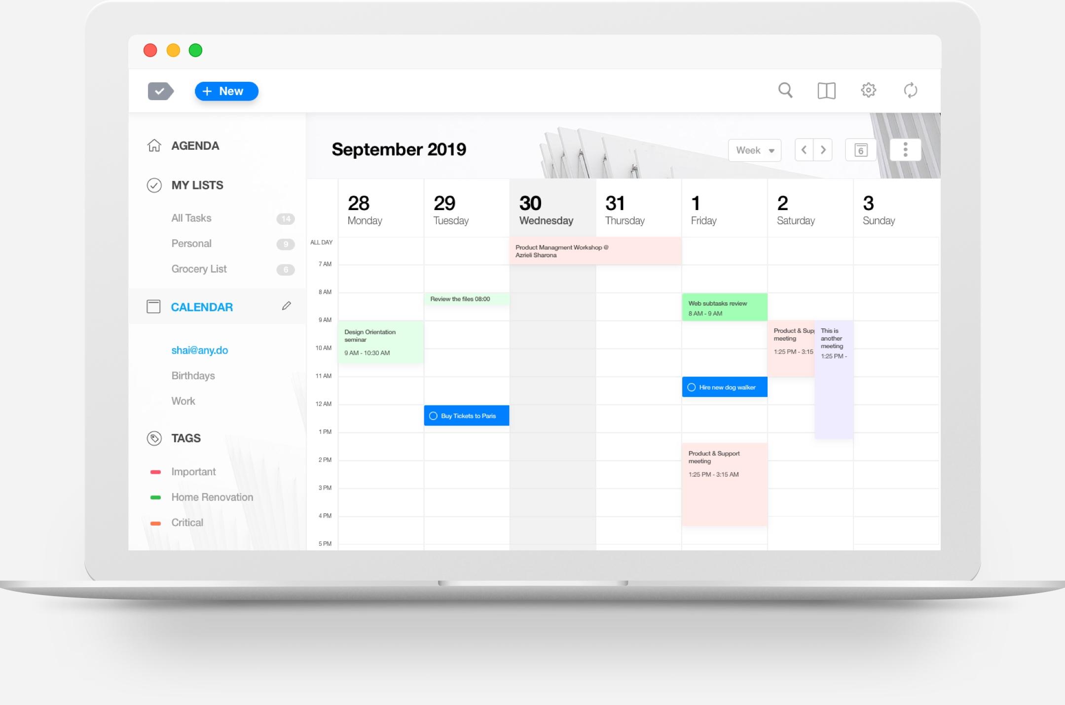 The Best Calendar App For Desktop Anydo