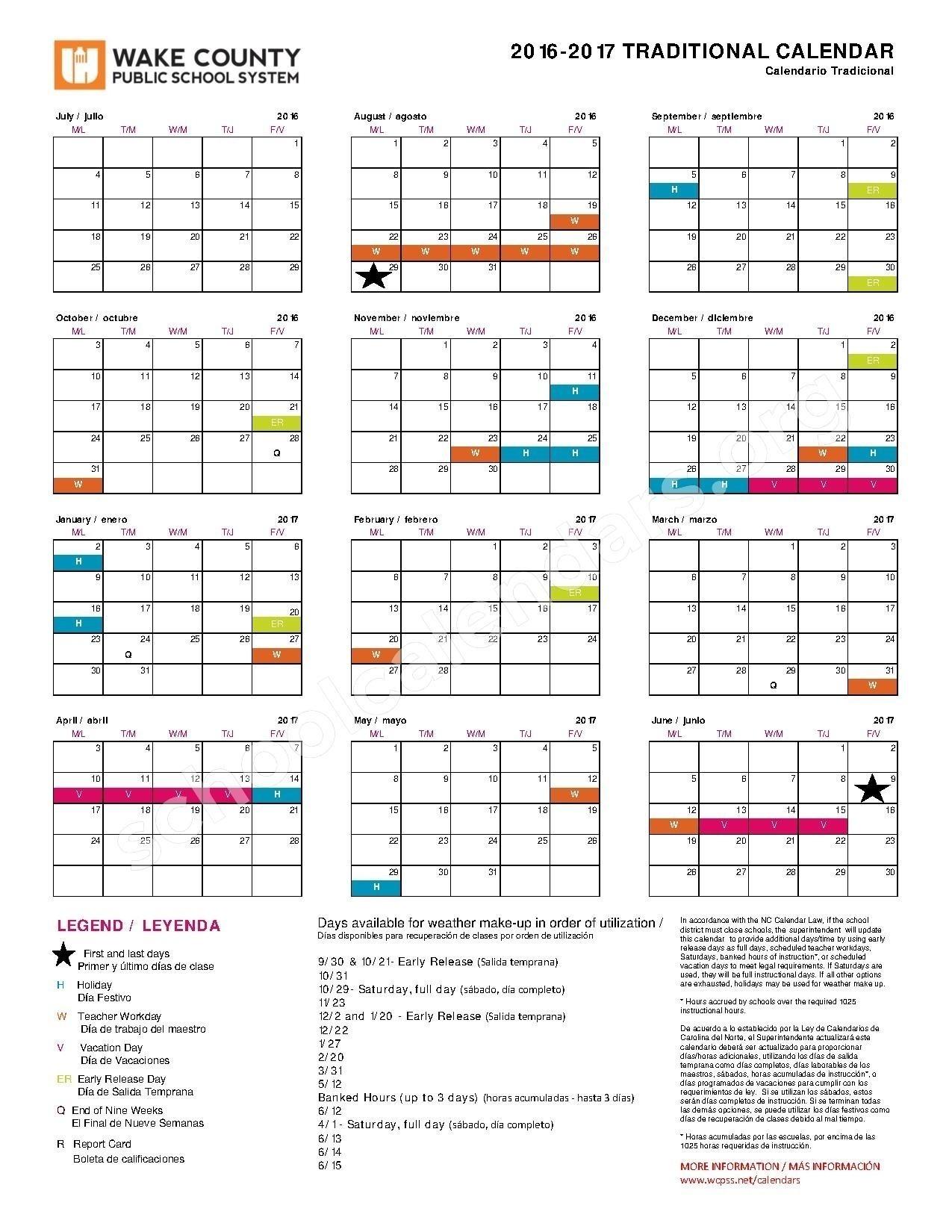 Wcpss Calendar Dienlanhvinhphuc Throughout Wcpss Pay Calendar 2018