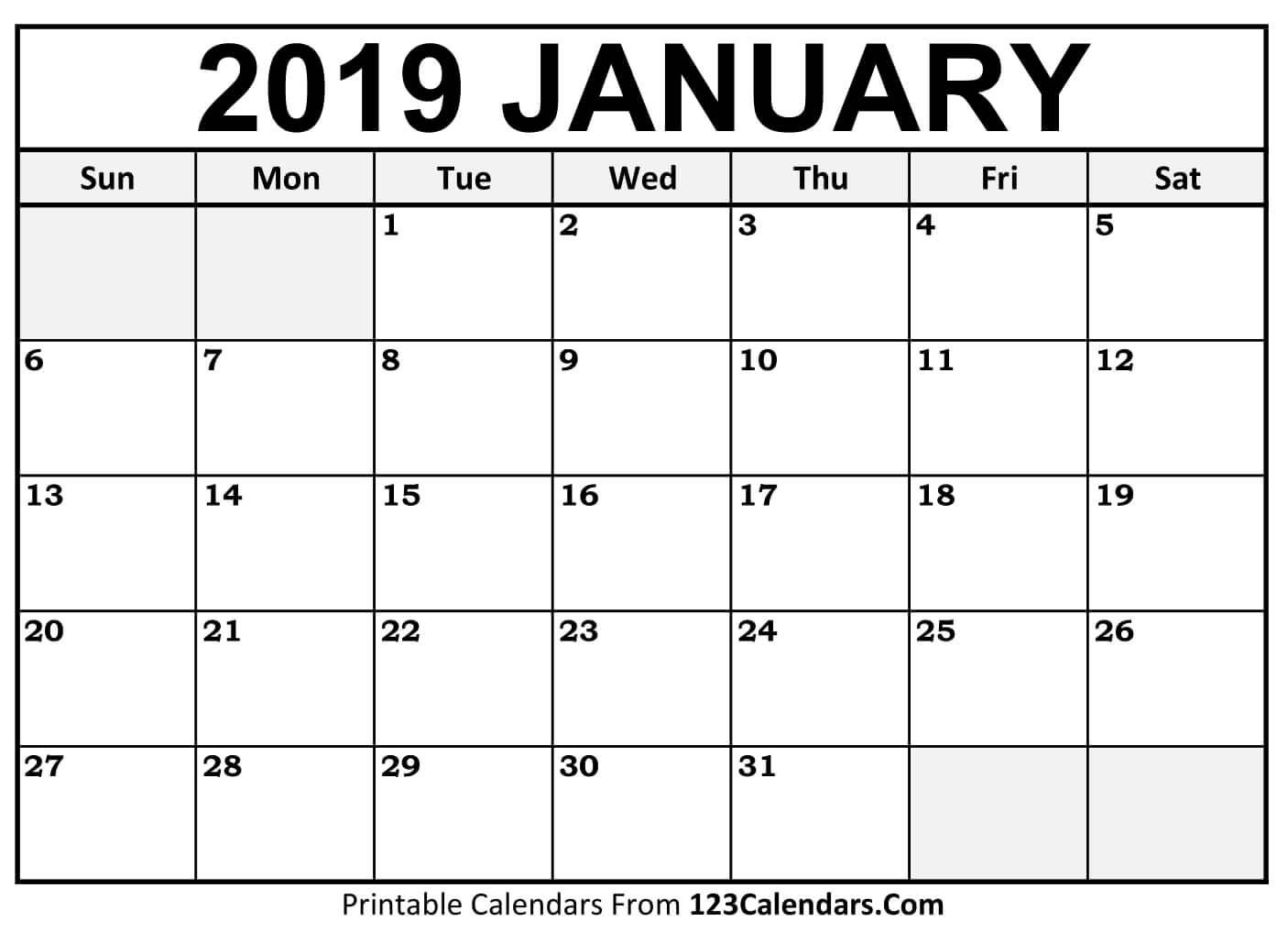 Printable Calendars Com