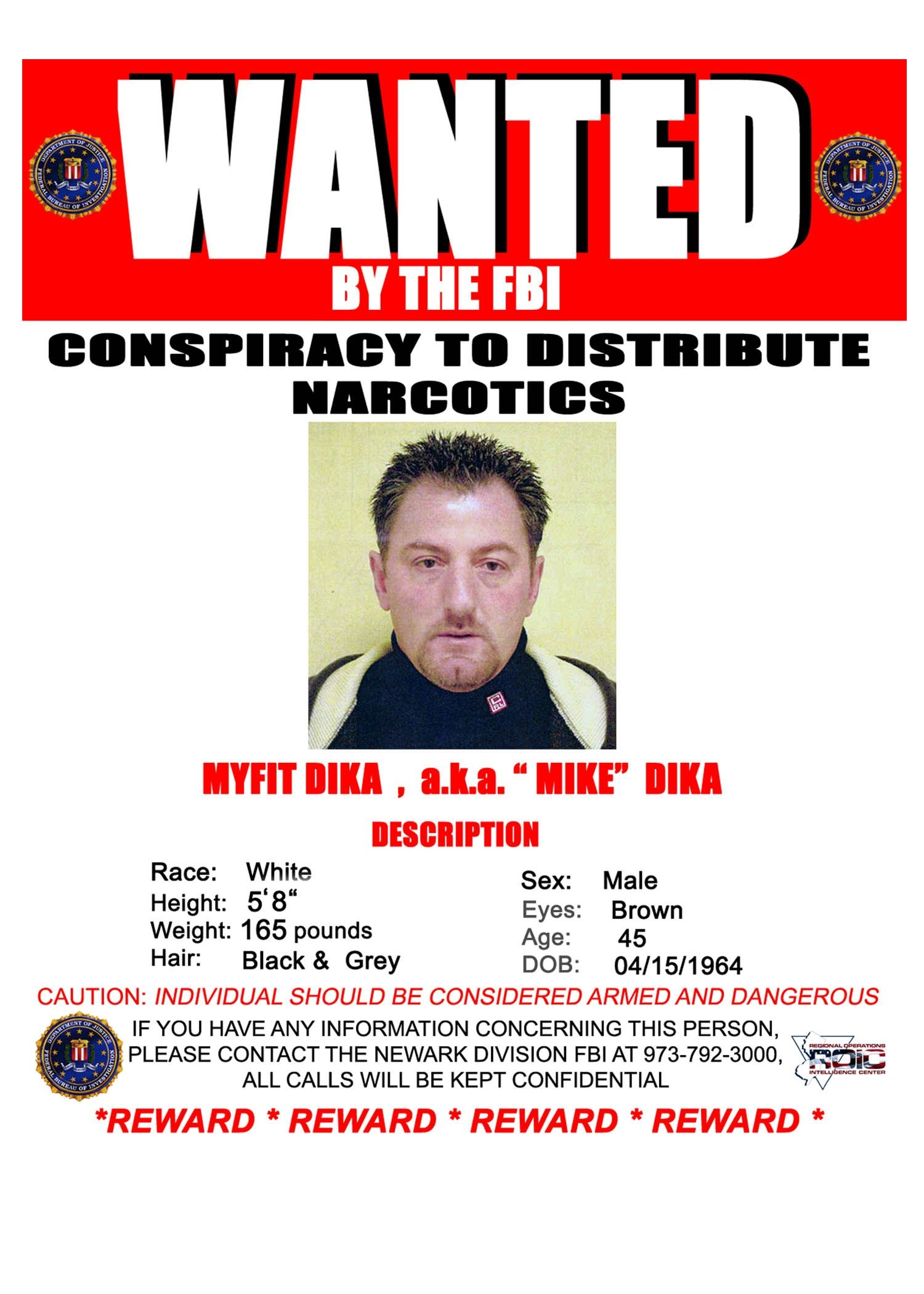 Fbi Most Wanted Poster Template Free